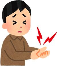 腱鞘炎(ド・ケルバン病)